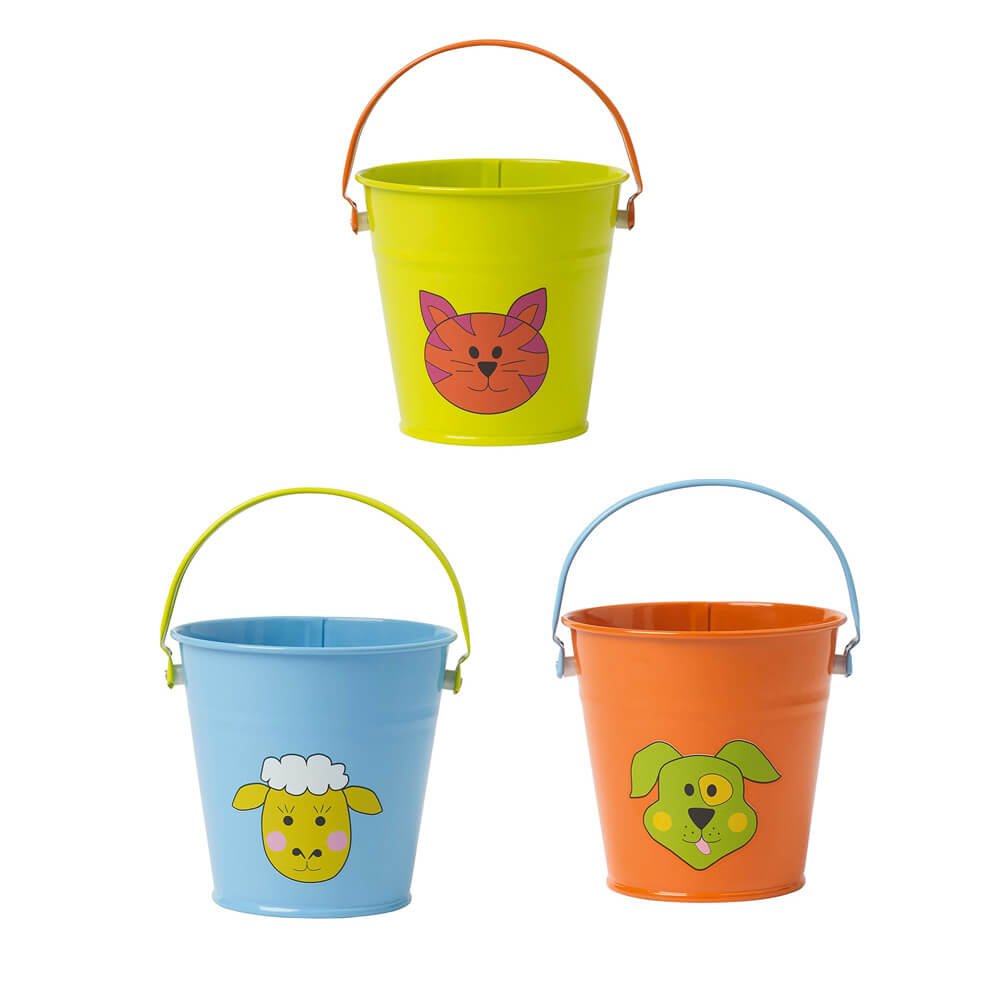 Briers Kids Small Metal Garden Bucket
