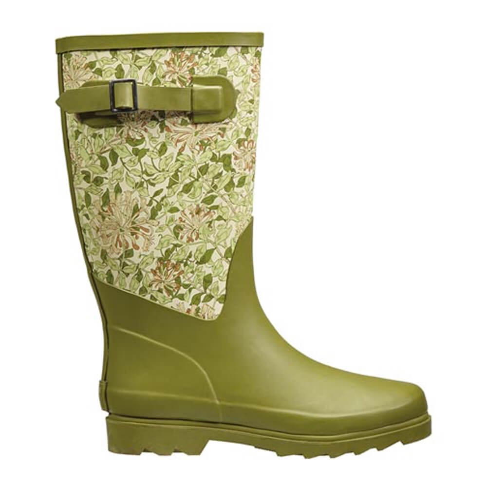 Honeysuckle Fabric Feel Rubber Boot