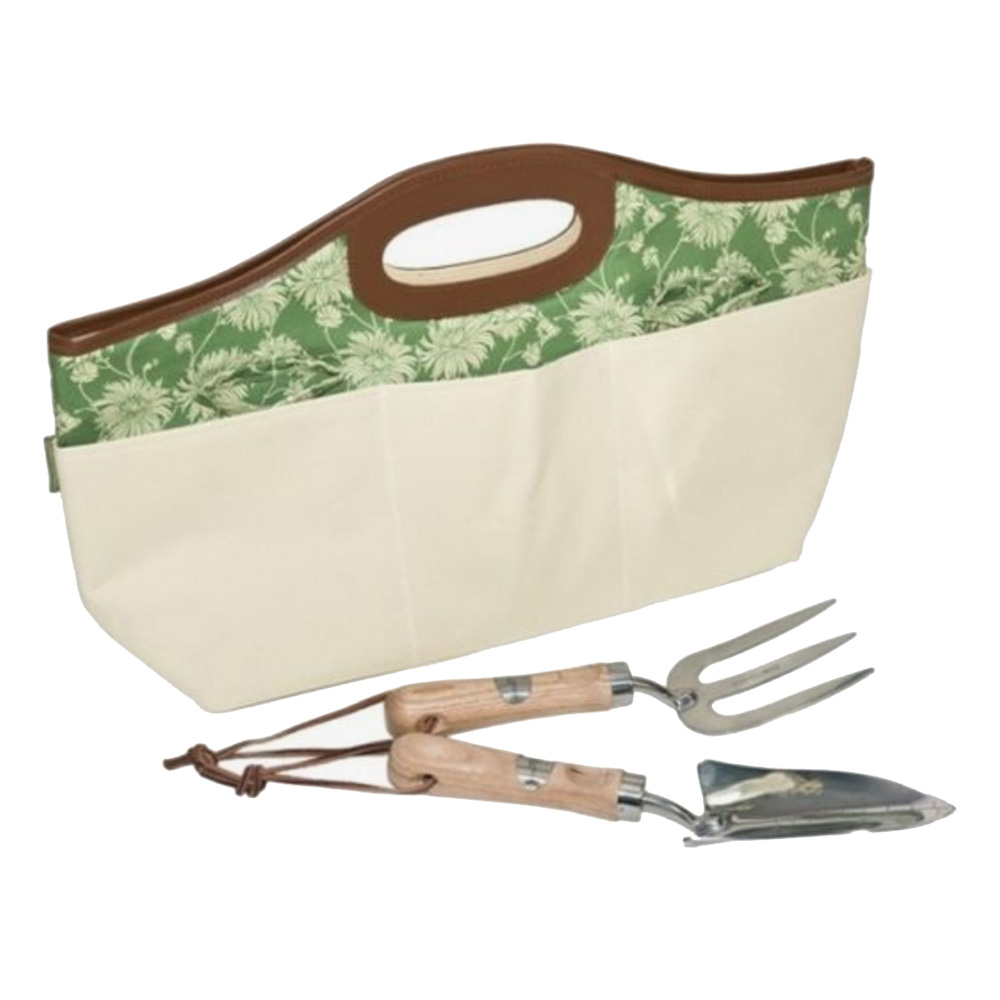 Kimono Garden Tool Bag & Tools by Laura Ashley