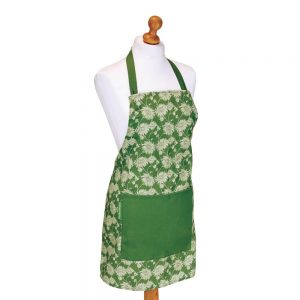 Laura Ashley Kimono Olive Long Apron.