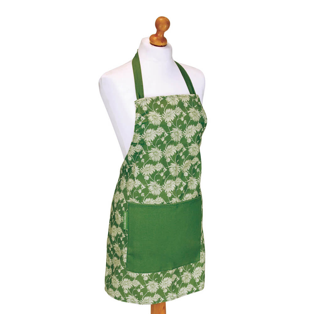 Laura Ashley Kimono Olive Long Apron