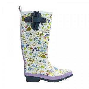 Lavender Garden Rubber Boots
