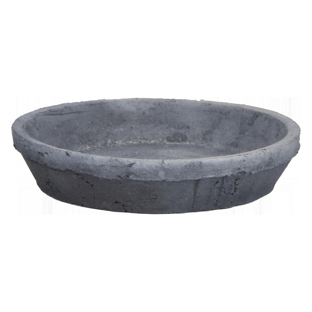 Grey Saucer – Round